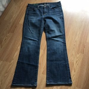 J.Crew boot cut jeans size 4